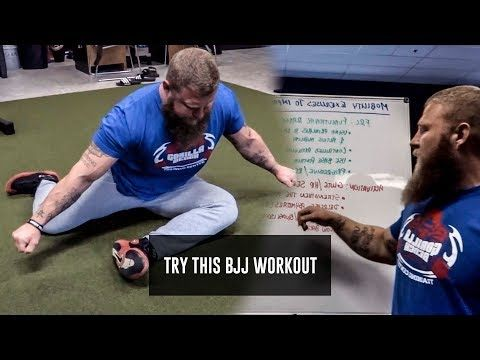 Mobility Exercises To Improve Your Guard | BJJ Strength With Phil Daru - YouTube