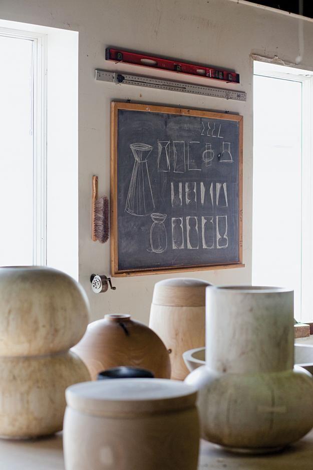 Lunch & Latte: in woodworker Joshua Vogel's studio