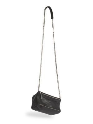 81508a8711fd4 GIVENCHY Pandora Mini Leather Shoulder Bag. #givenchy #bags #shoulder bags # leather #lining #cotton #