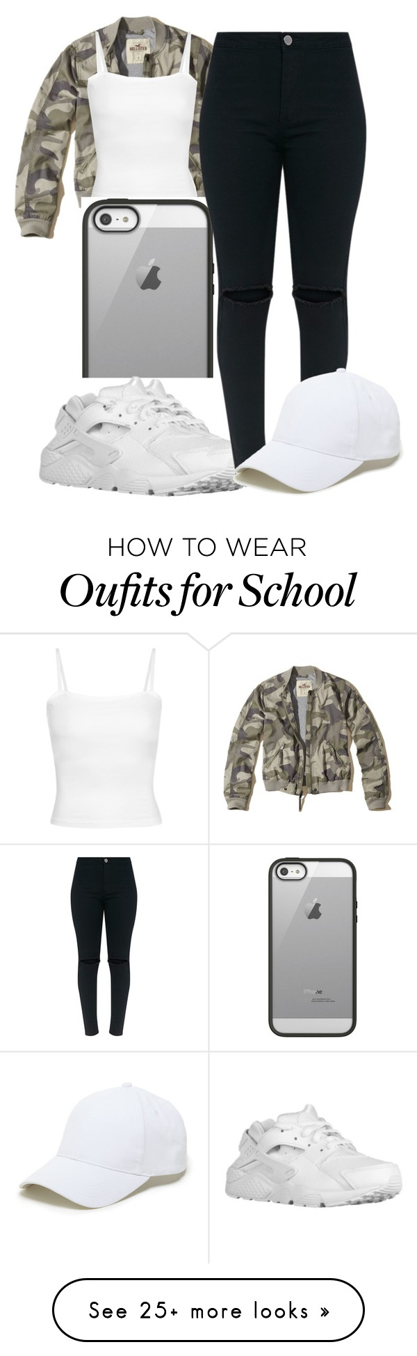 """""""~Ran Down On That Chick Twice♀️~"""" by camcam-lolzz on Polyvore featuring Hollister Co., Belkin, NIKE and Sole Society"""