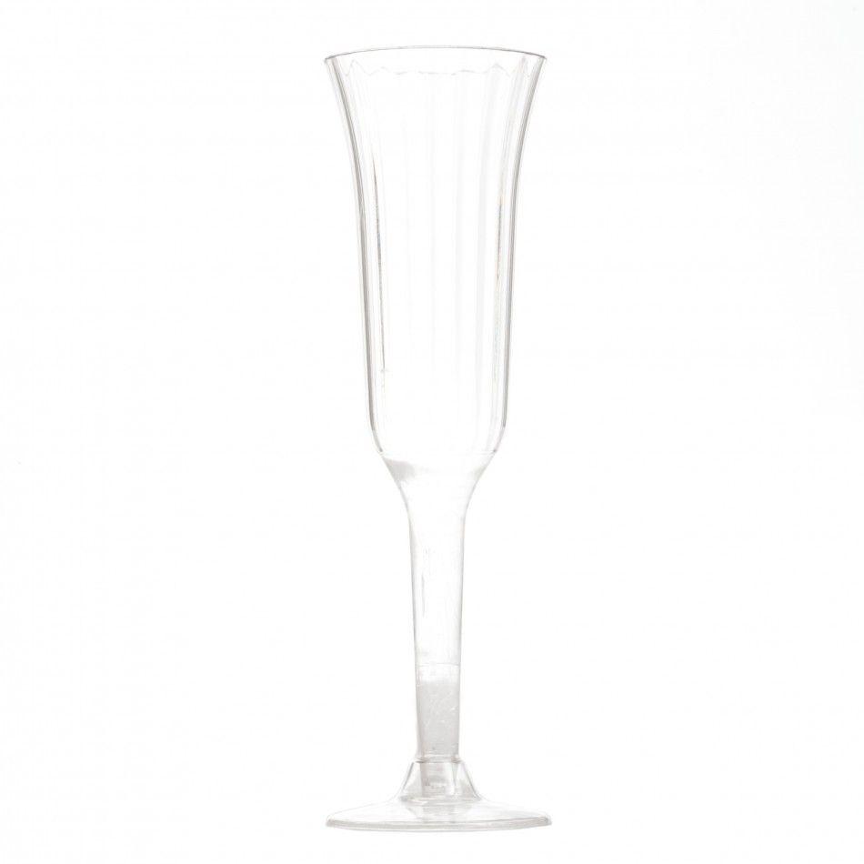 Plastic Champagne Flutes BULK (Set of 12) [EP-002 Plastic Champagne ...