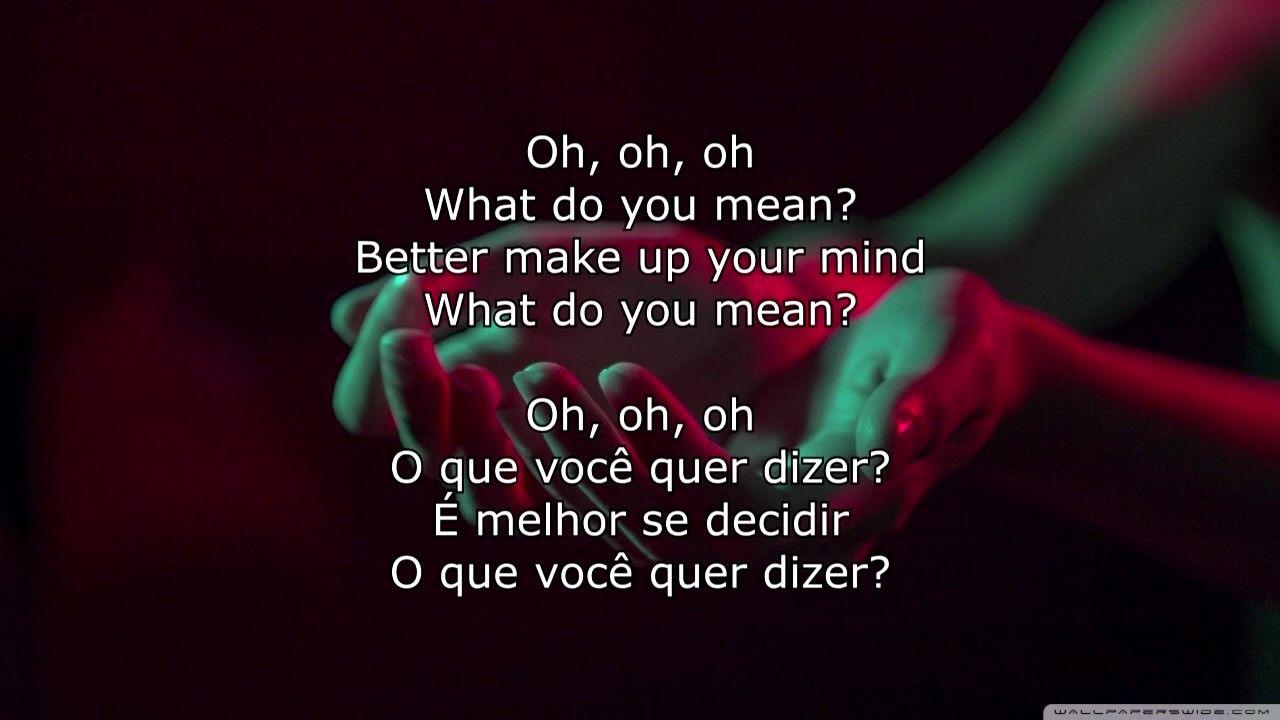 Ivan B The Deeper Meaning Lyrics Letra English Portugues