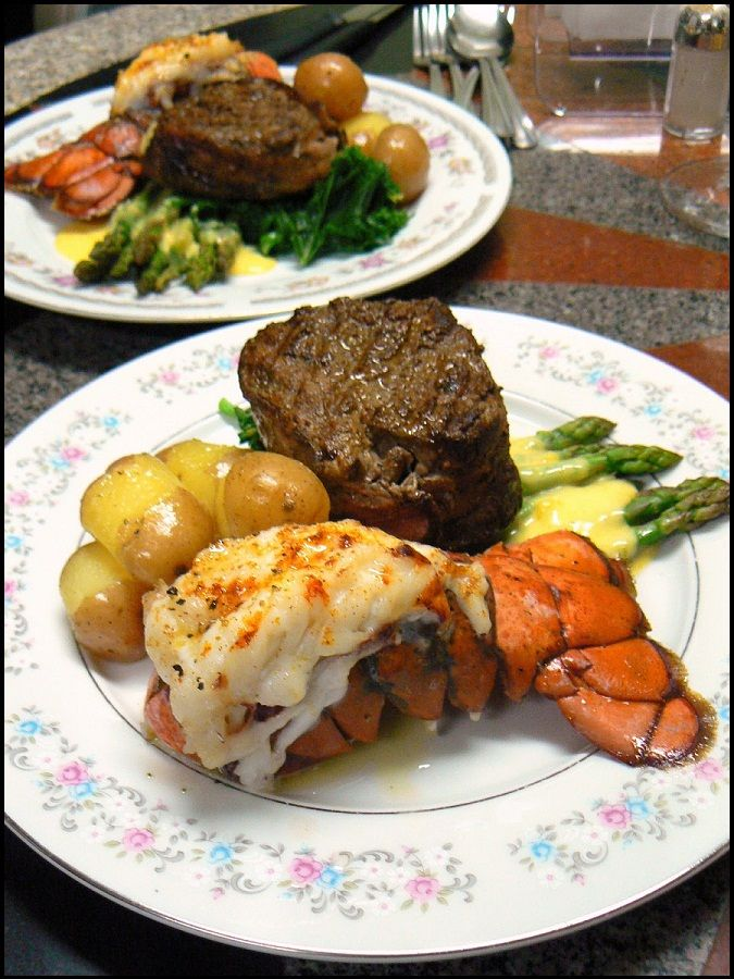 Classic Surf And Turf Steak And Lobster Dinner Steak And Lobster Lobster Dinner