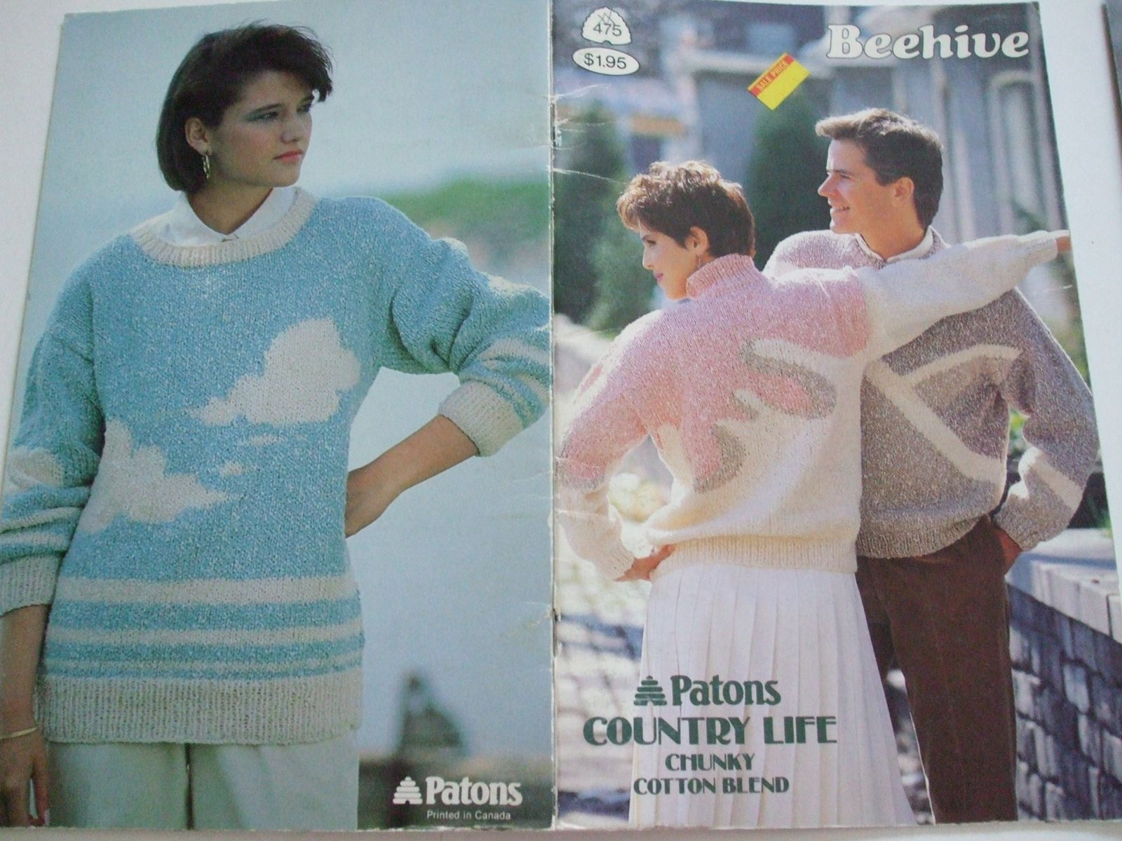 Second Silver - 475 country life chunky knitting patterns patons men ...