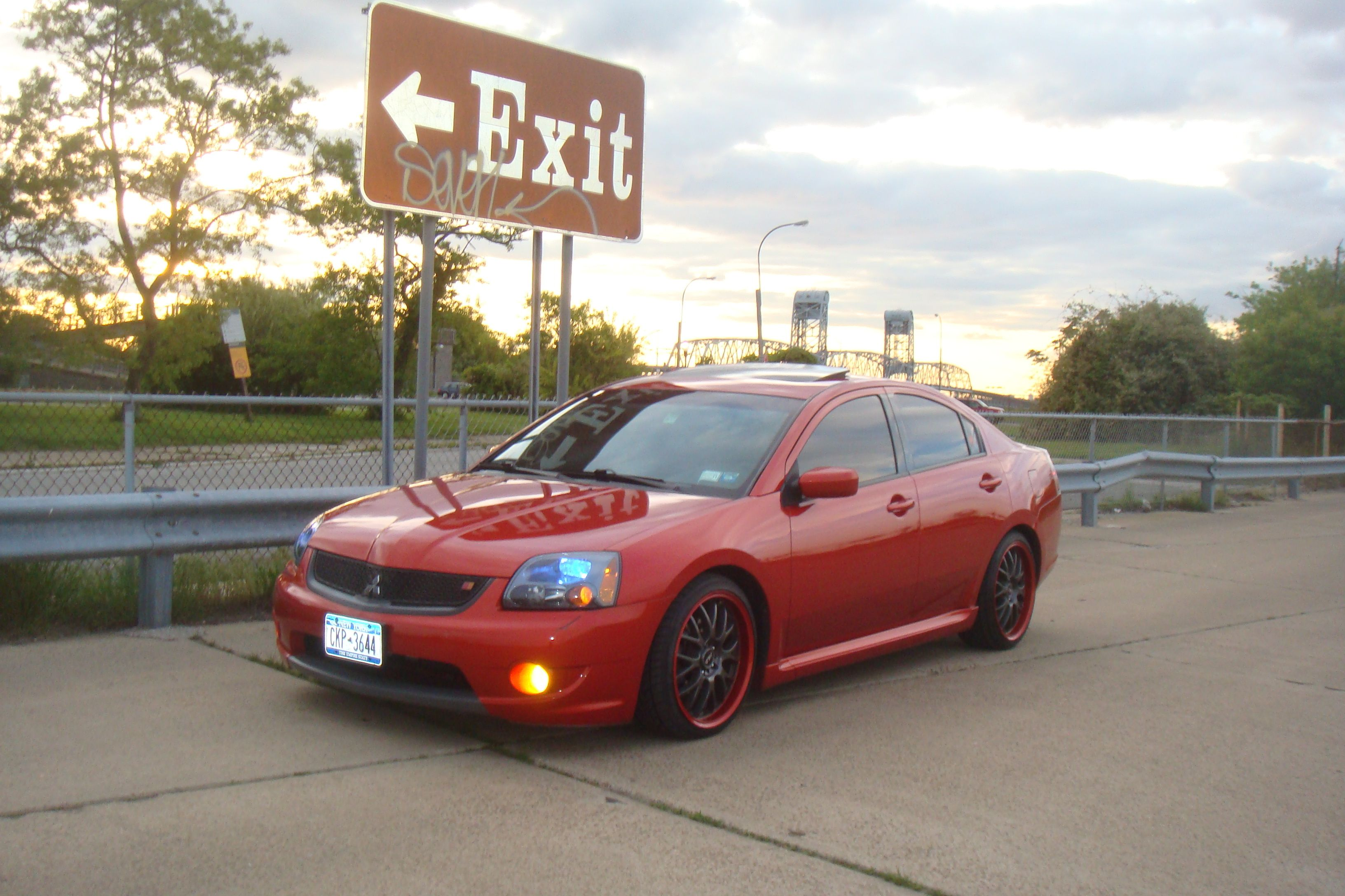 Another Doeordie 2007 Mitsubishi Galant Post 13118825 N Car
