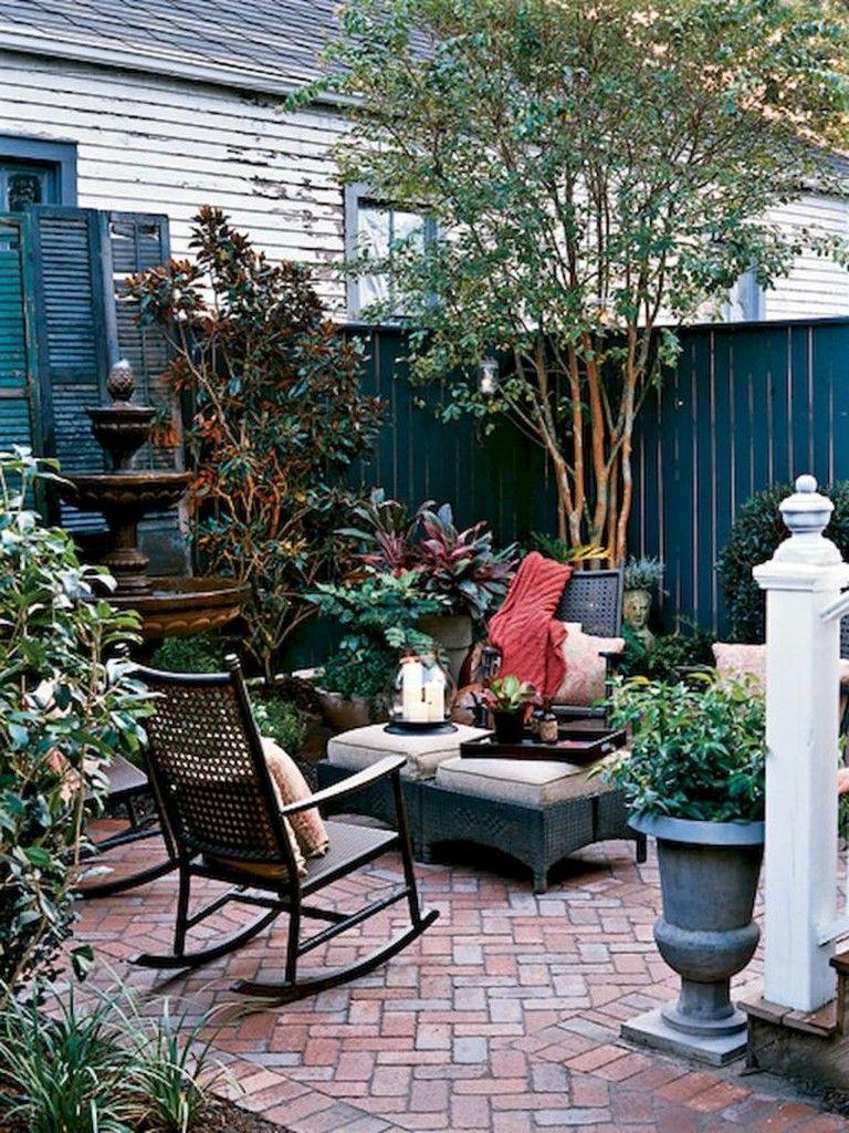 55 beautiful eclectic backyard ideas | garden | brick