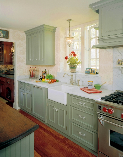 How To Add Old House Character Charm To Your Newer Home Step 4 Beneath My Heart Cottage Kitchen Design Cottage Kitchen Cabinets English Country Kitchens