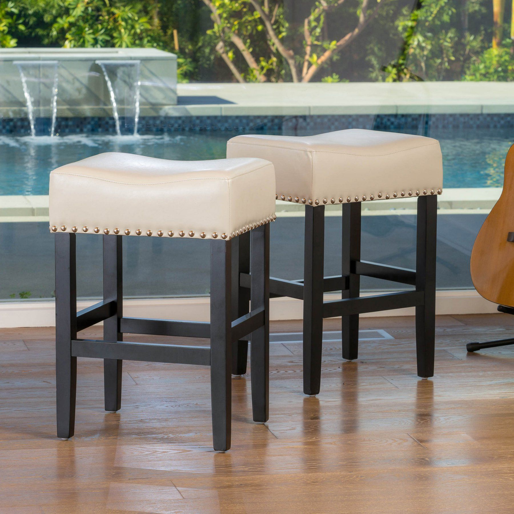 Best Selling Home Rosemount Counter Stool With Cushion Set Of 2