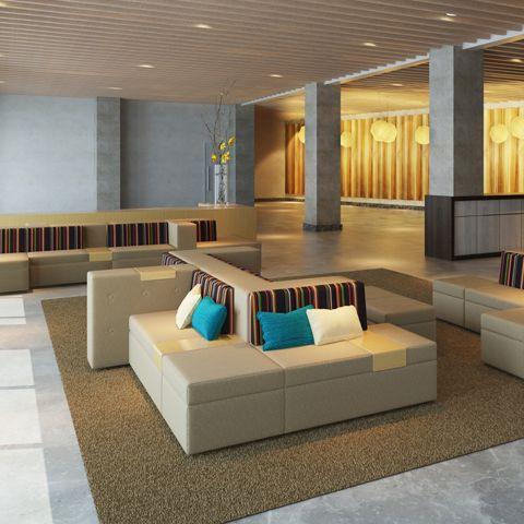 Tangent Modular Lounges Lounge Seating Farmhouse Stools