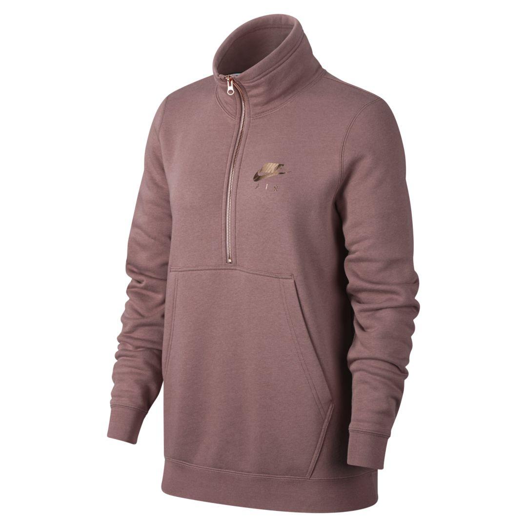 356c7630 Air Women's 1/2-Zip Fleece Top | Products | Nike women, Nike, Nike air