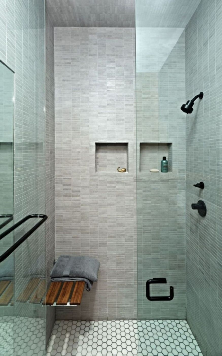 Awesome Stand Up Shower Modern Small Bathrooms Small Bathroom Remodel Bathroom Interior