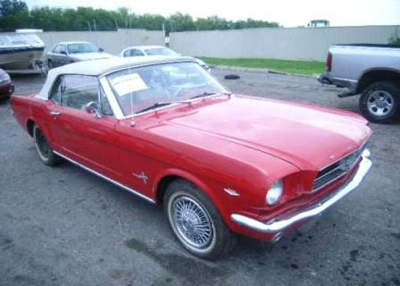 Old Mustangs For Sale >> 1965 Ford Mustang 289 Convertible Flood Car Mustang
