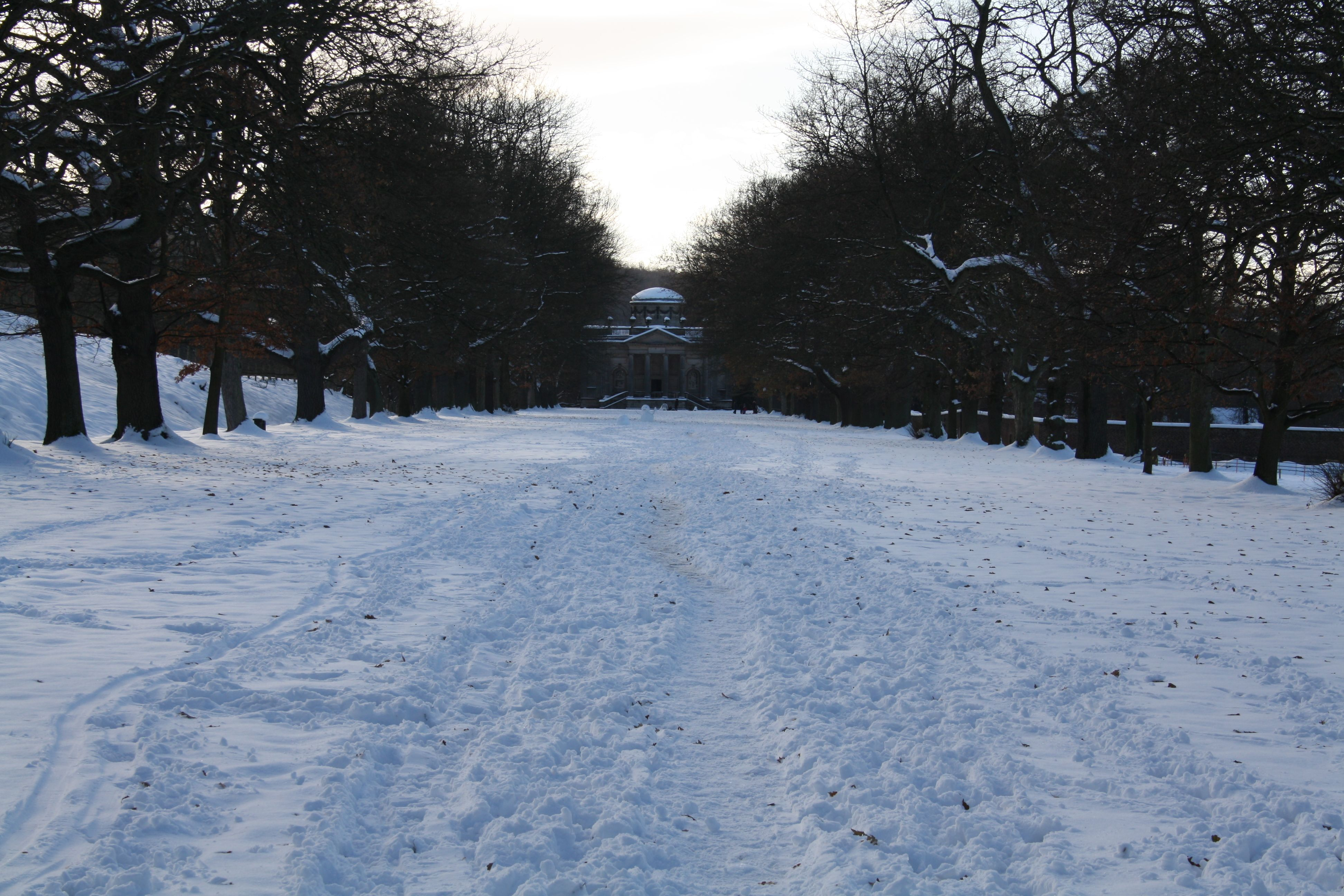 The Grand Walk in Snow December 2010