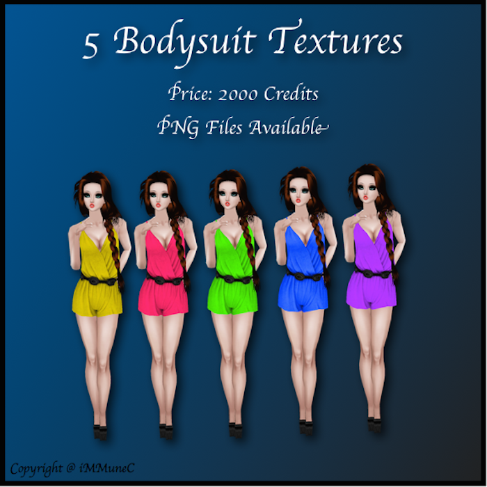 Bodysuit Textures created by iMMuneC @ IMVU (http://goo.gl/c03S4Y)
