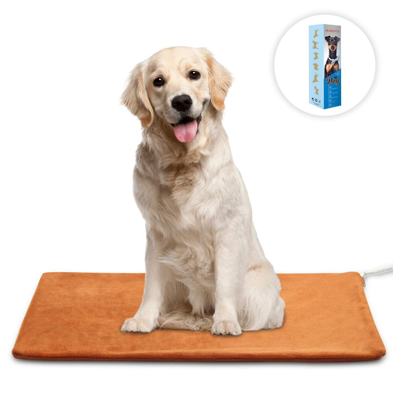 MARUNDA Pet Heating Pad,Cat Dog Electric Pet Heating Pad