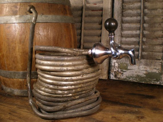 Antique Beer Cooler Coil And Tap By Vinetrotique On Etsy 135 00