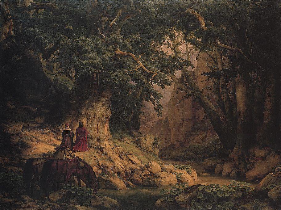 Tausendjaehrige Eiche (Lessing 1837) - Romantik – Wikipedia