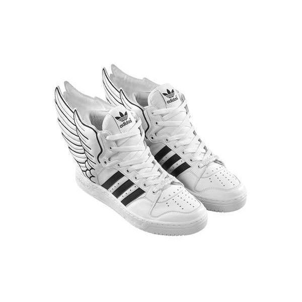 Jeremy Scott Adidas Wing Sneaker ❤ liked on Polyvore | Stiefel