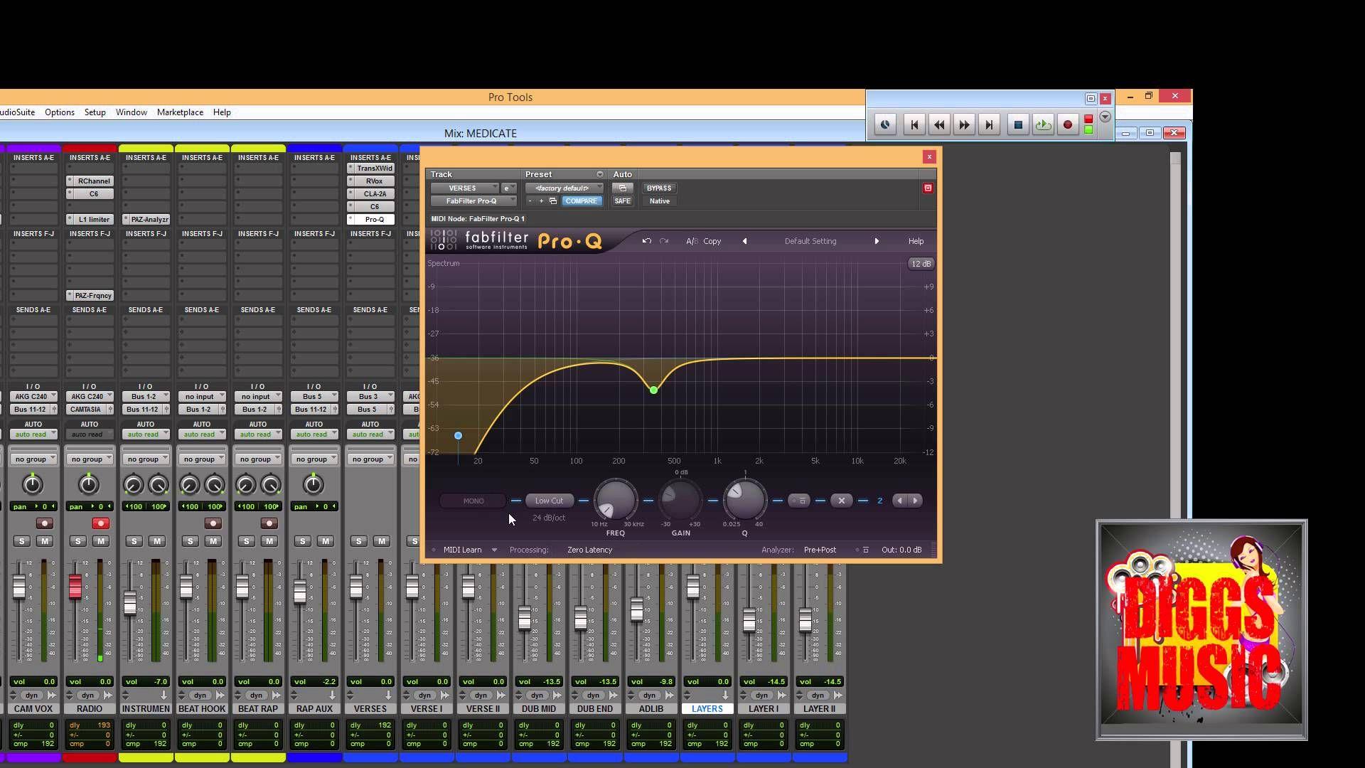 HOW TO MIX RAP VOCALS PART I EQ AND COMPRESSION Music
