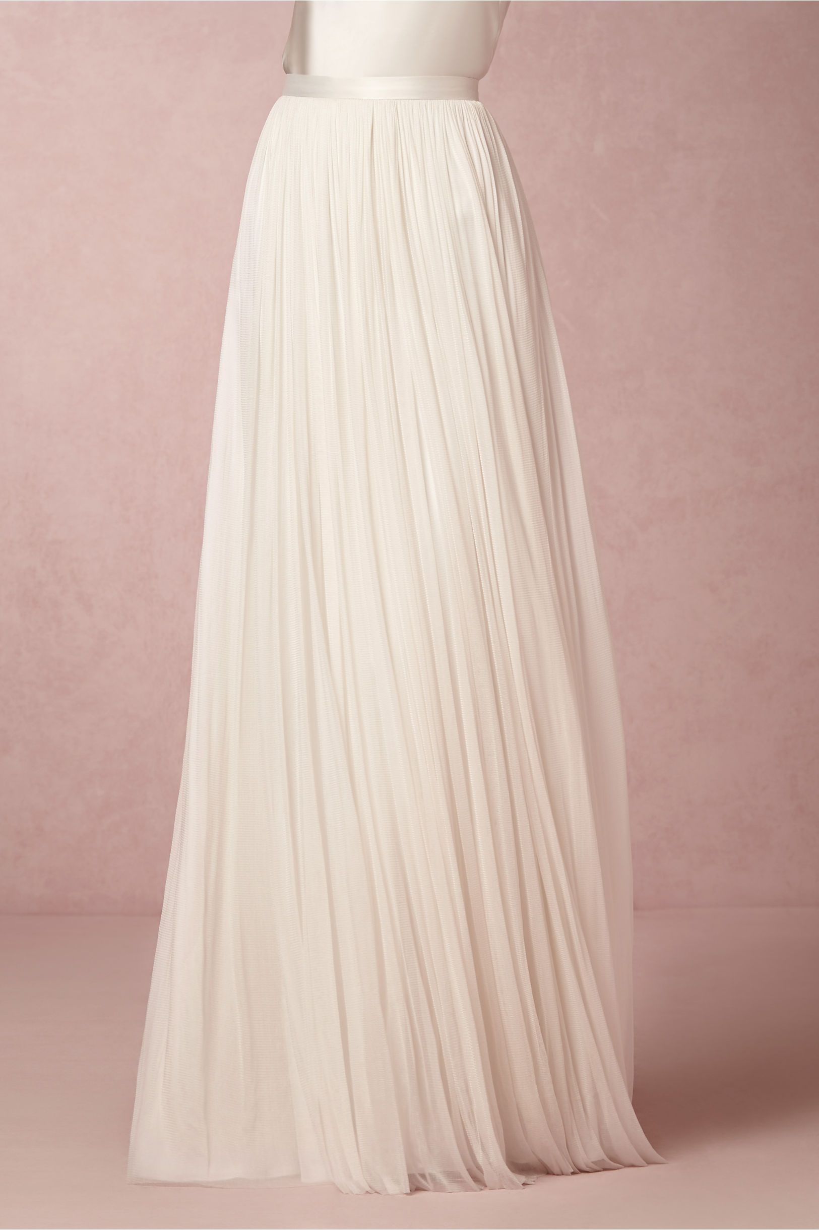 f8becd5eb Anika Tulle Skirt and In Perpetuity Camisole in Bride Wedding Dresses  A-Line at BHLDN