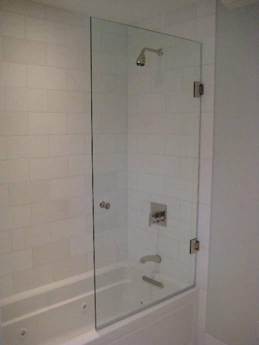 bath tub half glass | Half glass door nice hardware - Bath Tub Half Glass Half Glass Door Nice Hardware Bathroom