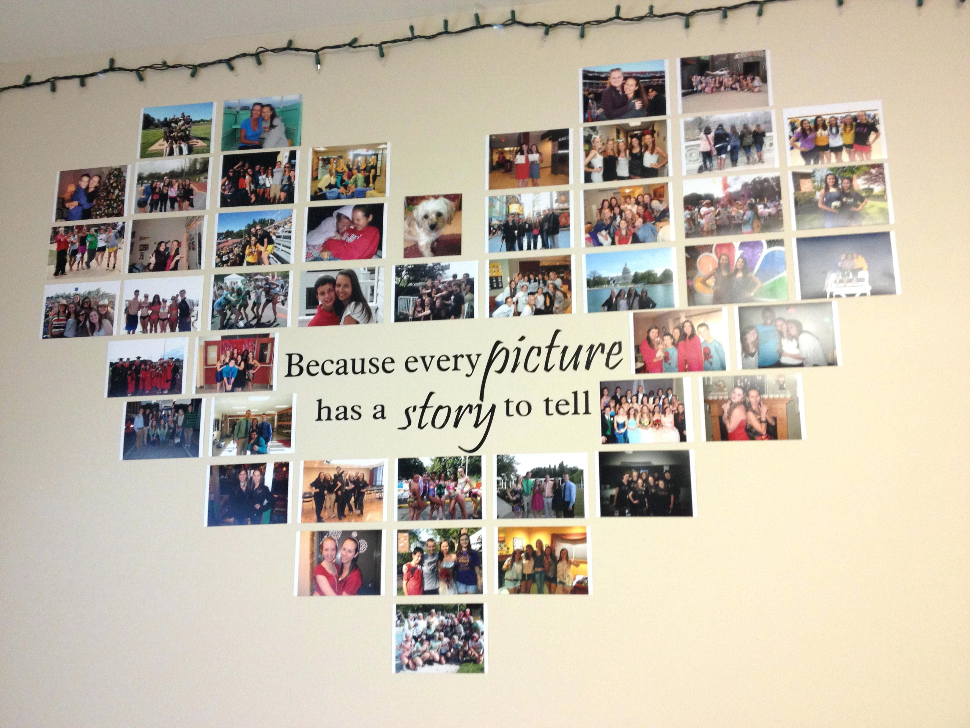 image result for wall photo collage ideas without frames | diy gifts
