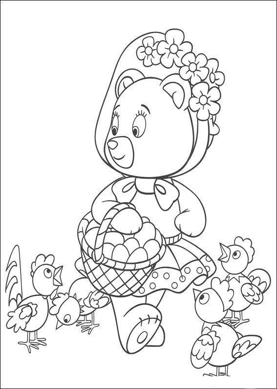 Noddy Coloring Pages 48