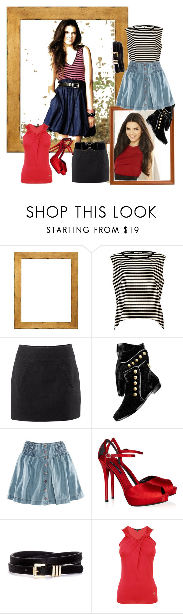 """""""kendall jenner's style ;)"""" by evarose ❤ liked on Polyvore featuring River Island, H&M, House of Harlow 1960, Ralph Lauren Collection, Gucci and STELLA McCARTNEY"""