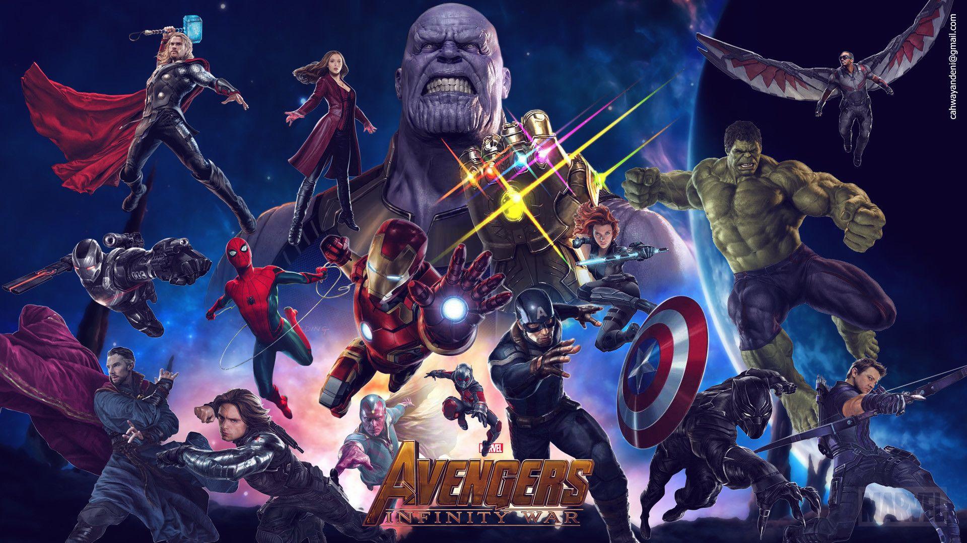 Marvel Future Fight Hd Wallpaper 8 1920 X 1080 Stmed Net Avengers Infinity War Avengers Wallpaper Avengers