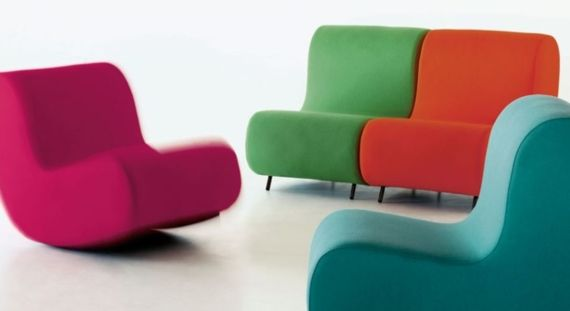 Fauteuil Design Confortable Simple Sledge Schommelstoel Stoelen Meubilair