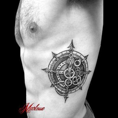 Tatuajes De Hombres En Las Costillas 15 Tatuajes Pinterest