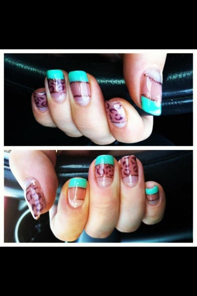 Nails by Angelene | Bijou Kidderminster http://www.facebook.com/pages/BijouCALGEL/331237016892212