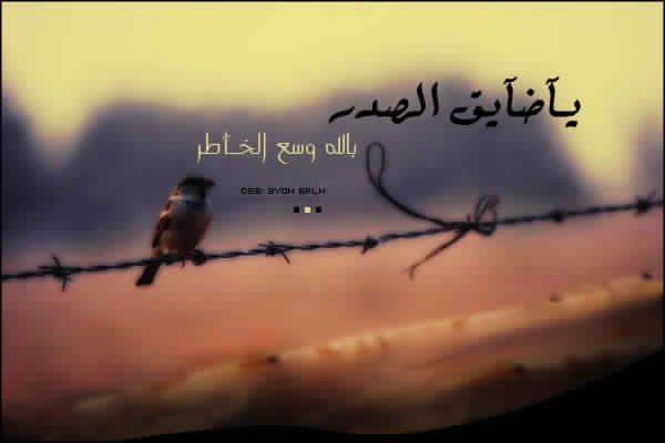 Http Imagess Net ياضايق الصدر بالله وسع الخاطر اللهم ام Http Imagess Net Arabic Calligraphy Calligraphy
