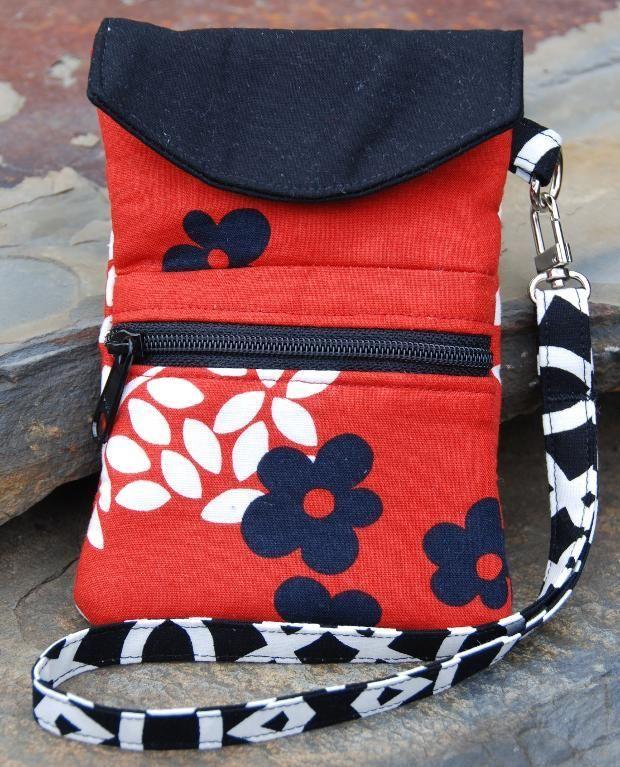 Handy-Tasche mit extra Fach