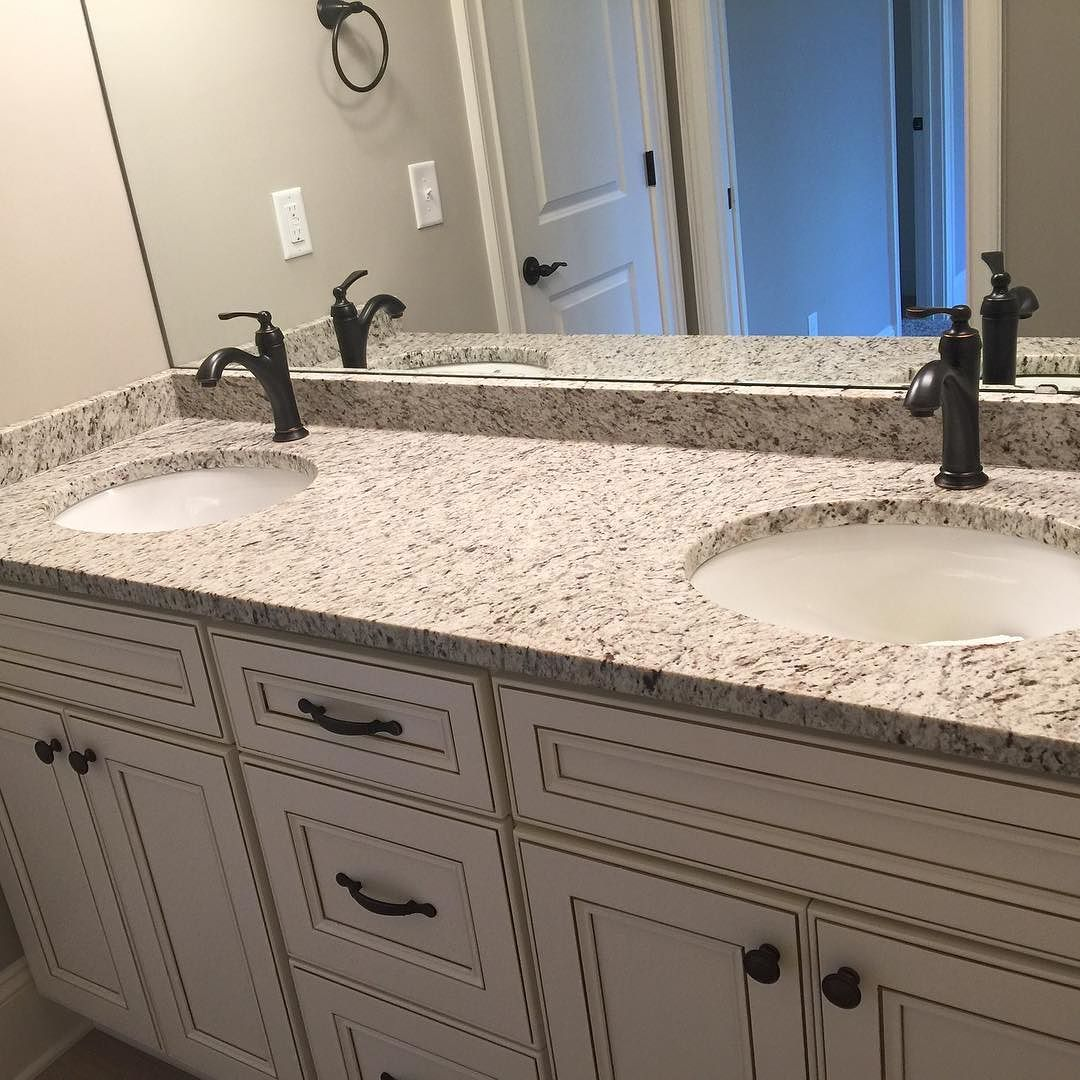 Giallo ornamental bathroom gialloornamental for Granite countertop design ideas