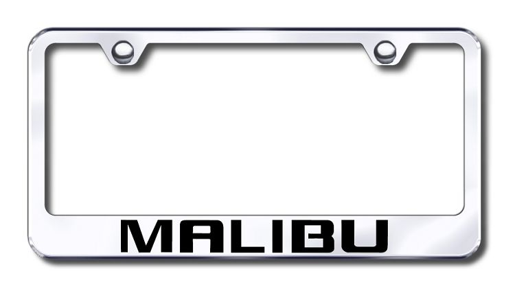 Chevrolet Malibu License Plate Frame   CHEVROLET License Plate ...