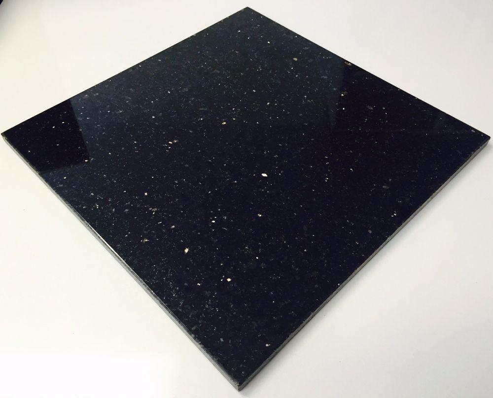 Black Star Galaxy Granite Tiles Goldcopper Fleck 400x400x10mm