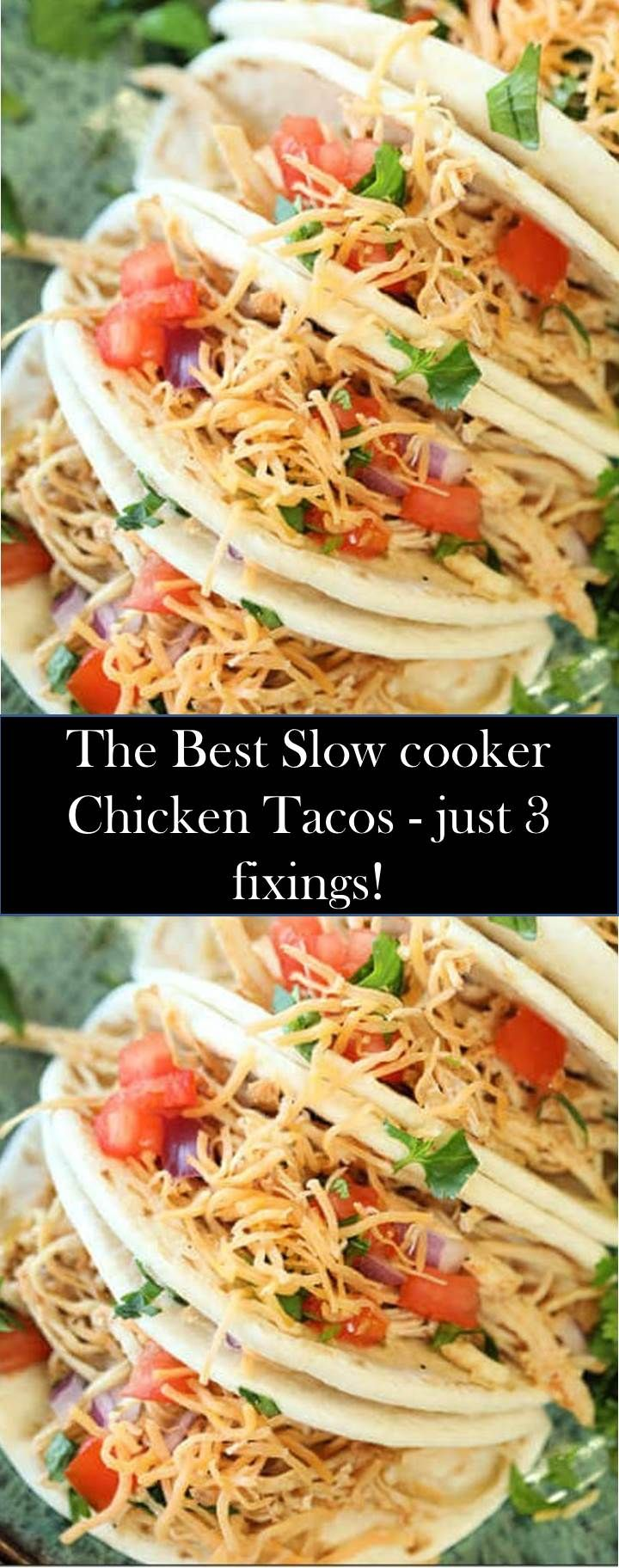 ★★★★★ 956 reviews : #Slow #cooker #Chicken #Tacos - just #3 #fixings! Special Foods And Drinks Are Ready To Accompany You ! Slow cooker Chicken Tacos - just 3 fixings! Slow cooker Chicken Tacos formula is so great! Make moderate cooker Shredded chicken tacos! Chicken tacos slow cooker formula is snappy. Slow cooker destroyed chicken tacos #shreddedchickentacos