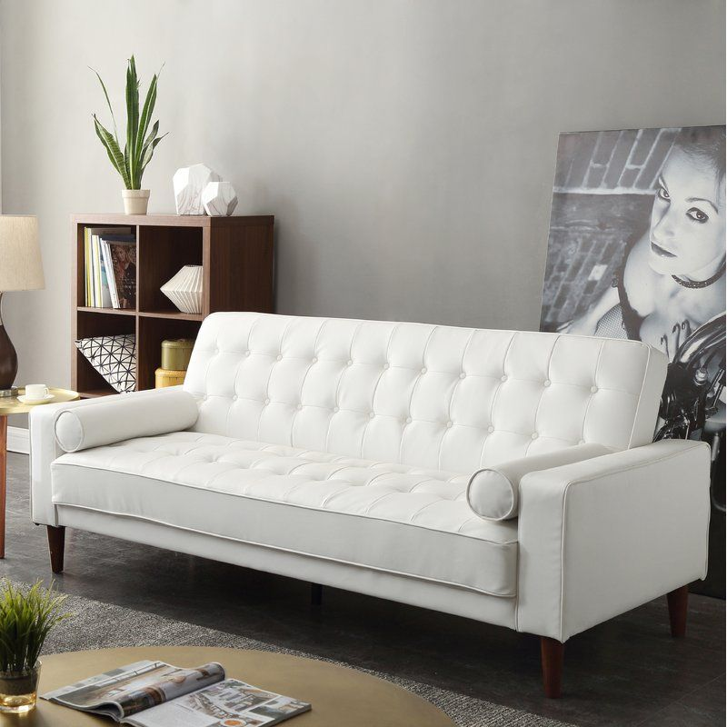 Ivy Bronx Shayne Convertible Sofa Reviews Wayfair With Images