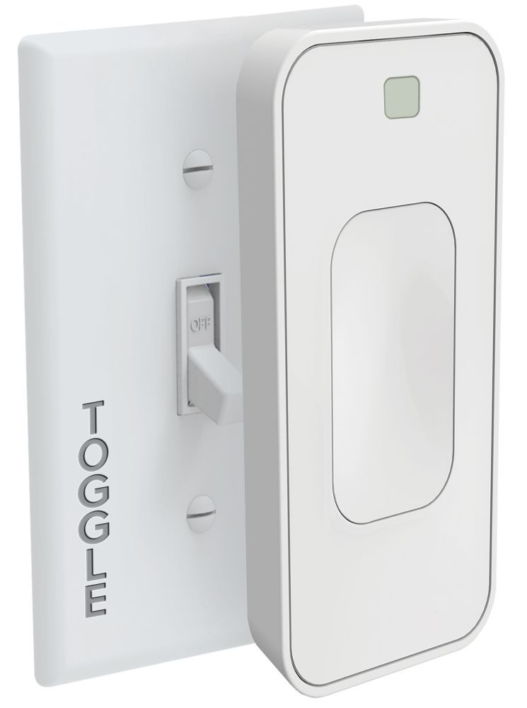 Slim Voice Activated Wire Free Smart Switch Toggle Smart Home Toggle Light Switch Smart Home Control