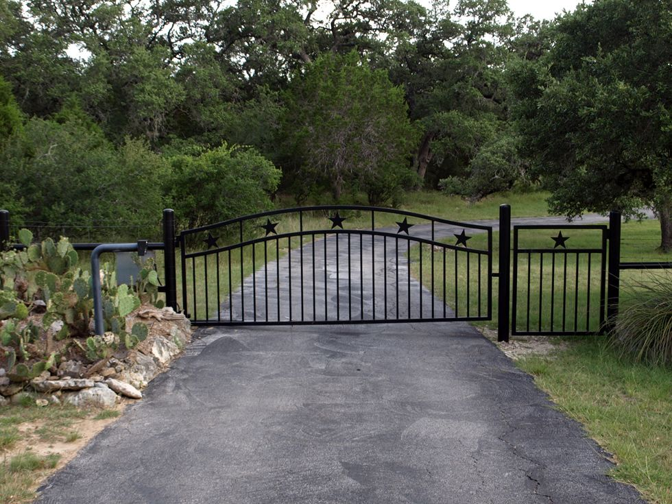 Ranch entryways residential entry gates
