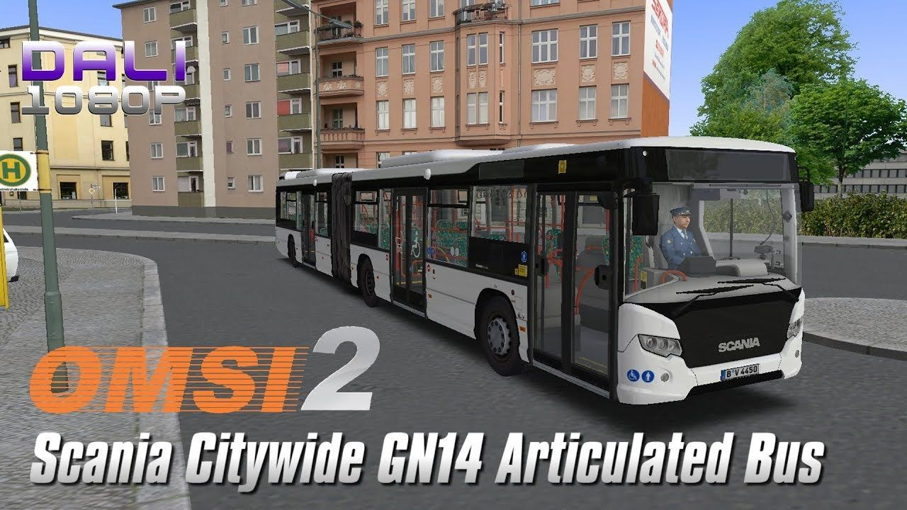 40910fd465b OMSI 2 Scania Citywide GN14 Articulated Bus Logitech G29 + EDTracker Pro  Wireless #omsi2 #scania #simulation #Steam #YouTube