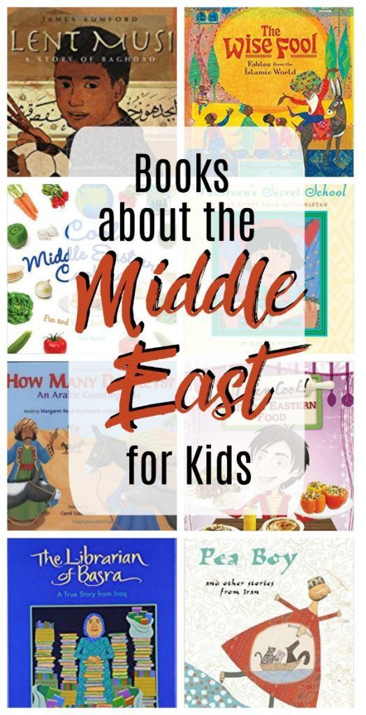 Books about the Middle East for Grade Schoolers