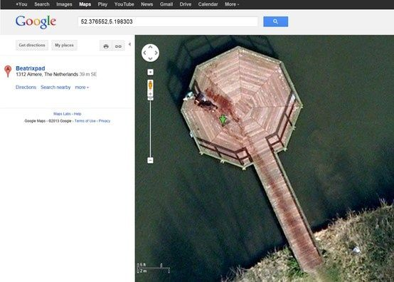 Can We Say Creepy Type In Into Google Maps - Google satellite maps zoom