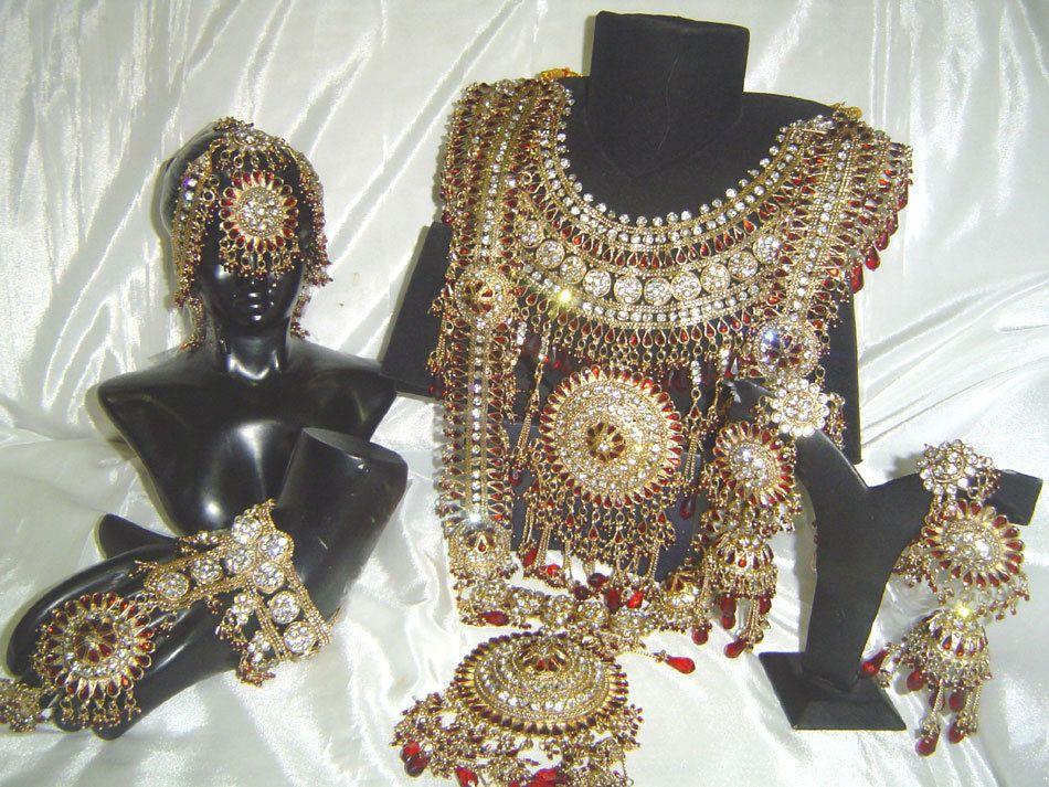 Bollywood Indian Jewelry Jodha Akbar Kundan Bridal Wedding Necklace
