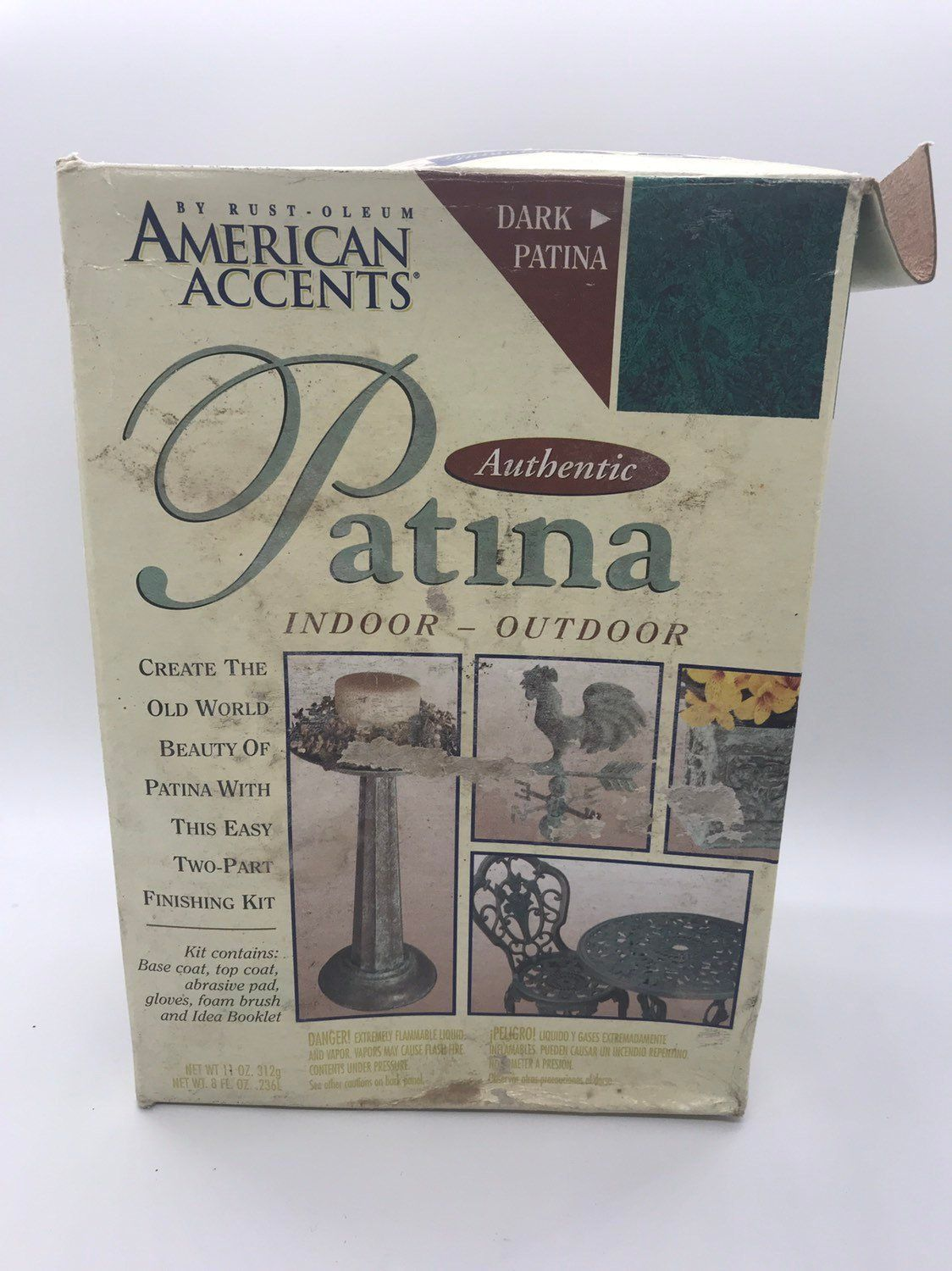 American Accents Authentic Patina Indoor Outdoor Kit Home Decor Finish Outdoor Kit Kit Home Indoor
