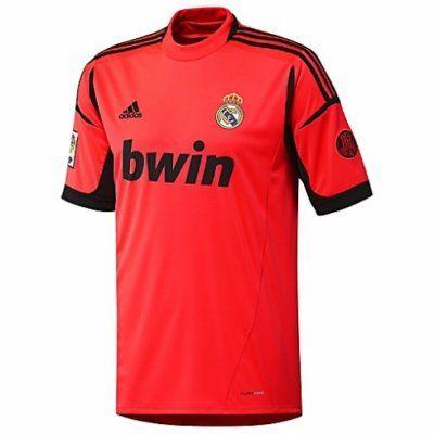 Camiseta del Real Madrid 2012 2013 Portero Segunda  39a957a820c45