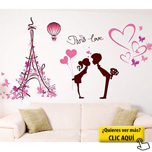 Buen muchacho torre eiffel en parís 3d-Look papel murales pegatinas-sticker