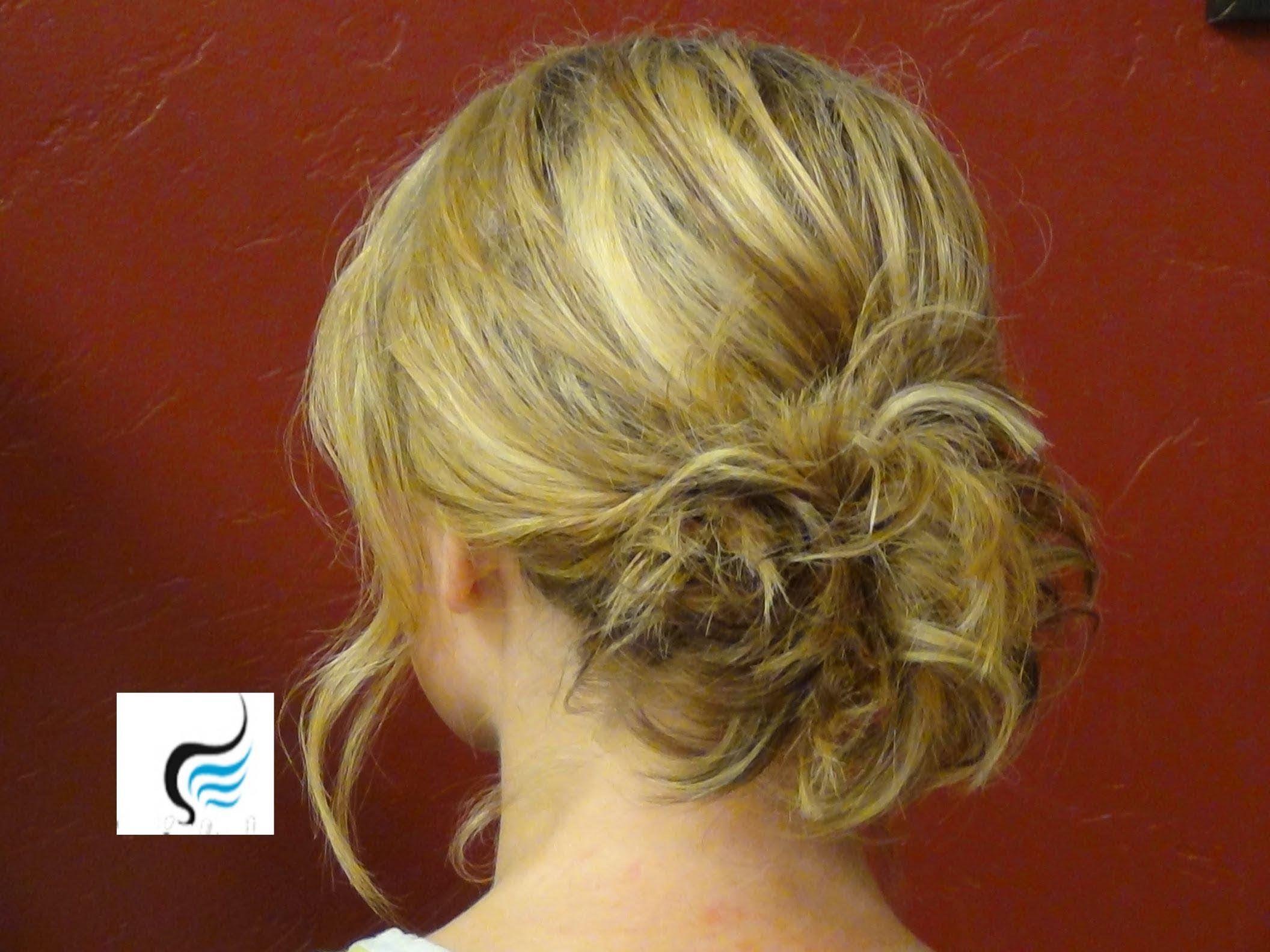 Updo For Shoulder Length Hair
