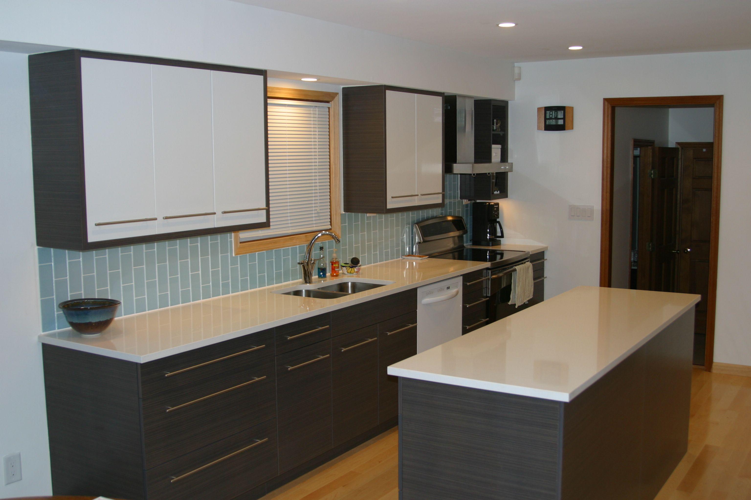 Vapor Glass Subway Tile  Subway Tiles Kitchen Backsplash And Amazing Kitchen Design And Installation Inspiration Design